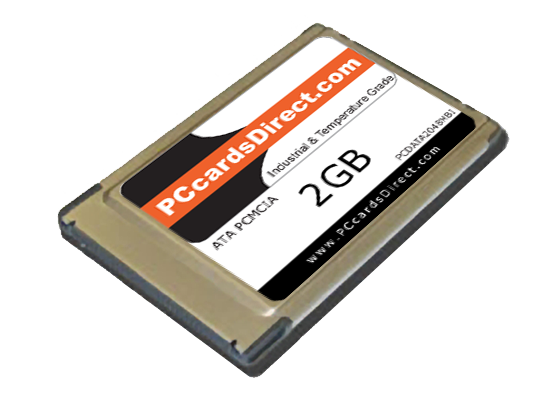 PCMCIA 2GB PC Card