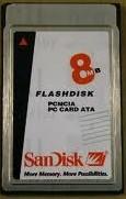 8MB PCMCIA Card